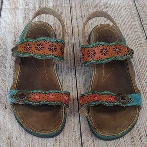 Spring Step L'Artiste Louann Boho Sandals Sz 37